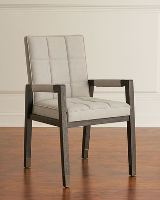 Hooker Furniture Pair of Brikelle Tufted Arm Chairs
