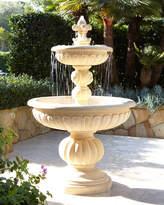 Horchow Lionhead Stonecast Fountain