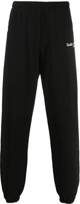 Sporty & Rich Health Club-print cotton track pants