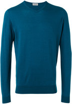 John Smedley v-neck sweater - men - Cotton - S
