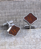 Cathy's Concepts Redwood Personalized Cuff Links