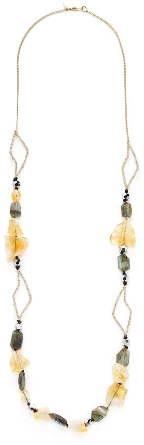 Alexis Bittar Women's Elements Encrusted Abstract Petal Strand Statement Necklace