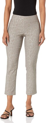 Nic+Zoe Women's Glazed Cheetah Wonderstretch Pant