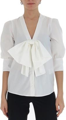 MSGM Bow Shirt