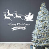 Wall Art Quotes & Designs By Gemma Duffy Merry Christmas Wall Stickers