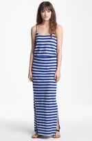 French Connection 'Totem' Stripe Jersey Maxi Dress
