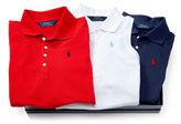 Ralph Lauren 7-16 3-Piece Cotton Polo Set