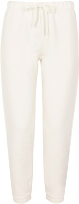 American Vintage Ibowie off-white cotton sweatpants