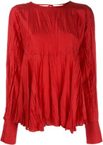 Joseph crumpled top - women - Silk - 38