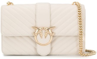 Pinko Love quilted cross body bag