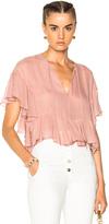 Rachel Comey Floater Top in Pink.