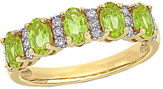 Rina Limor Fine Jewelry 14K 1.36 Ct. Tw. Diamond & Peridot Ring