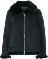 Tatras fur trim zip jacket