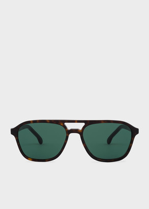 Paul Smith Deep Tortoise 'Alder' Sunglasses