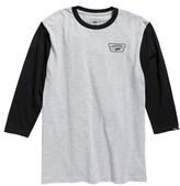 Vans Boy's Full Patch Long Sleeve T-Shirt