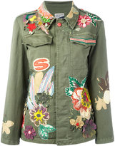 History Repeats - floral embroidered jacket - women - Cotton/Spandex/Elastane - 40