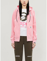 Aape Logo-print cotton-jersey hoody