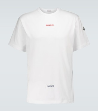 Moncler Here Now Forever cotton T-shirt