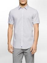 Calvin Klein One Slim Fit Pixel Short Sleeve Shirt
