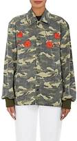 Opening Ceremony WOMEN'S EMBROIDERED CAMOUFLAGE COTTON JACKET