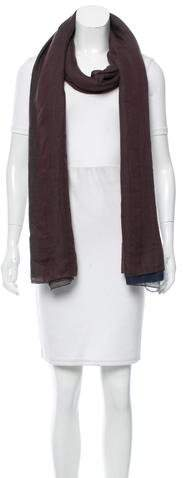 Hermes Striped Cashmere Stole