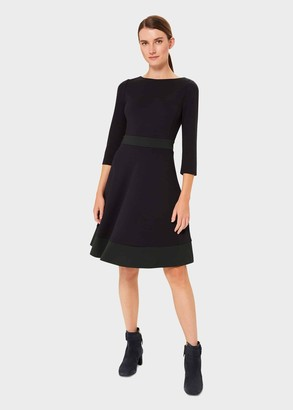 Hobbs Petite 3/4 Sleeve Seasalter Dress