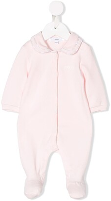 Boss Kids Peter Pan collar pajamas