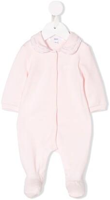 Boss Kidswear Peter Pan collar pajamas