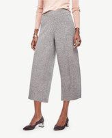 Ann Taylor Cashmere Wide Leg Crop Pants