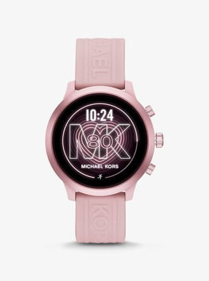 Michael Kors Gen 4 MKGO Pink-Tone and Silicone Smartwatch