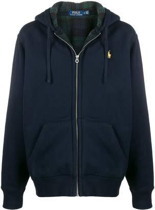 Polo Ralph Lauren fleece-lined hoodie