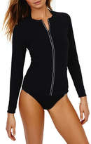 Sunseeker Zip Up Rash Vest
