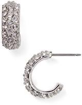 Lauren Ralph Lauren Pavé Hoop Earrings