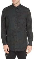 G Star Men's Stalt Long Sleeve Denim Shirt
