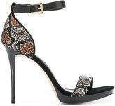 MICHAEL Michael Kors embellished sandals - women - Leather/metal/rubber - 8.5