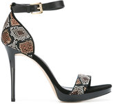 MICHAEL Michael Kors embellished sandals - women - Leather/rubber/metal - 7.5