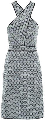 M Missoni Cutout Jacquard-knit Dress