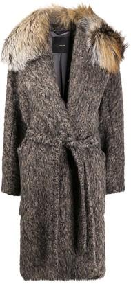 Max Mara Atelier Belted Wool Coat