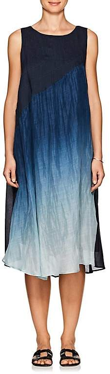 Pas De Calais Women's Linen-Silk Sleeveless Dress