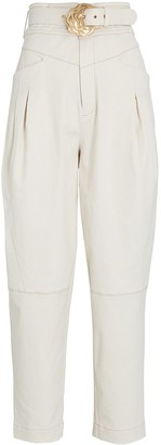 Nicholas Damia Tapered High-Rise Pants