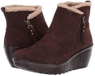 Skechers Parallel (Black/Black 1) Women's Boots