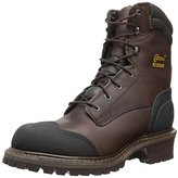 Chippewa Men's 8 Inch Chocolate Oiled Waterproof Logger Boot
