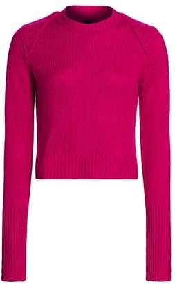 RtA Cropped Cashmere Sweater