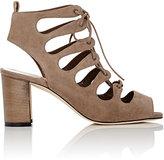 Manolo Blahnik Women's Attal Caged Sandals-BEIGE