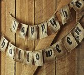 Pottery Barn Happy Halloween Banner