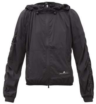 adidas by Stella McCartney Run Light Zipped Technical Jacket - Womens - Black