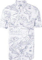 Polo Ralph Lauren map print polo shirt - men - Cotton - S