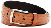 Trafalgar Double Stitch Leather Belt