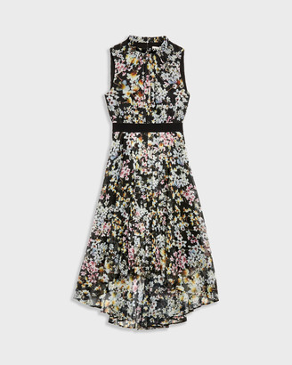Ted Baker MALORIE Jasmine sleeveless dip hem dress