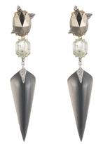 Alexis Bittar Mosaic Futurist Dangling Post Earring